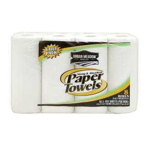 Urban Meadow - 2Ply Towels 8 Roll