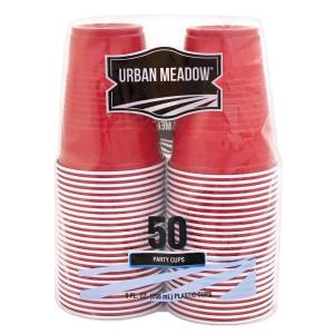 Urban Meadow - 9oz Plastic Cups