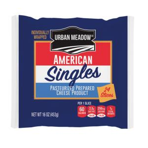 Urban Meadow - American Sngls 24 Wrp Slices