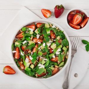 Berry Avocado Salad - Urban Meadow®