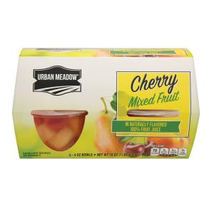 Urban Meadow - Cherry Mixed Frt Cup 4pk