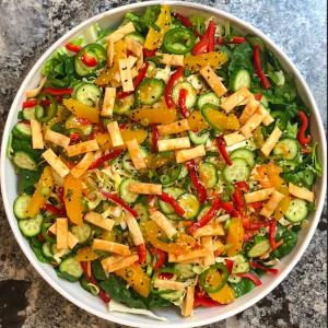 Orange Ginger Salad - Urban Meadow®