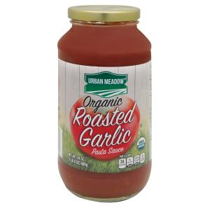 Urban Meadow Green - Org Roasted Garlic Sauce