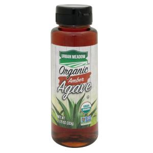 Urban Meadow Green - Organic Amber Agave