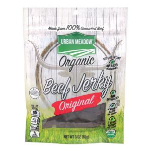 Urban Meadow Green - Organic Beef Jerky Original