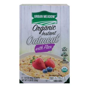 Urban Meadow Green - Organic Inst Oatml Oats Flax