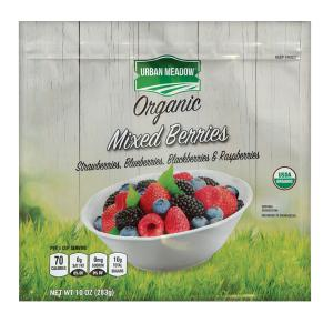 Urban Meadow Green - Organic Mixed Berry