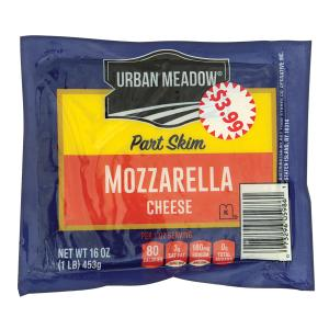 Urban Meadow - Part Skim Mozzarella Cheese