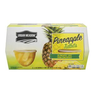 Urban Meadow - Pineapple Tidbit Jce Cups 4pk