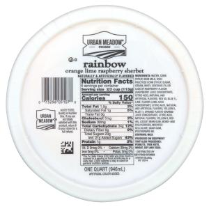 Urban Meadow - Rainbow Sherbet