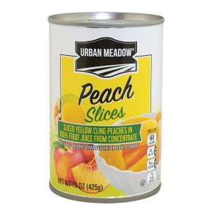 Urban Meadow - Sliced Peaches in Juice