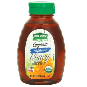 Urban Meadow Green - Unfiltered Organic Honey